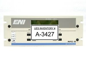 Eni Power Systems Rfc 6 01 Rf Matching Network Mw Controller Rfc 6 Used Working