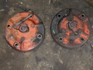 Case Sc Tractor Brake Drums 5558a