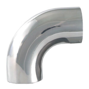 Spectre 9299 2 5 Od 90 Degree Polished Aluminum Cold Air Intake Tube