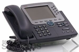 Cisco Unified Ip Phone 7970 Voip Phone Phone System Cp 281 1oz