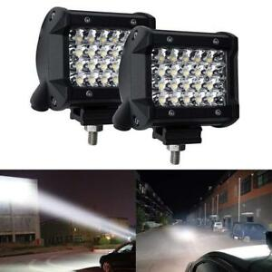200w Cree Led Work Light Bar Flood Combo Driving Off Road Tractor 4wd Suv