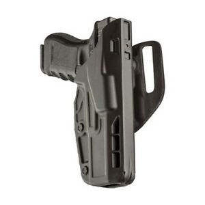 Safariland 7390 283 411 Als Mid ride Duty Holster Black Stx Rh For Glock 19