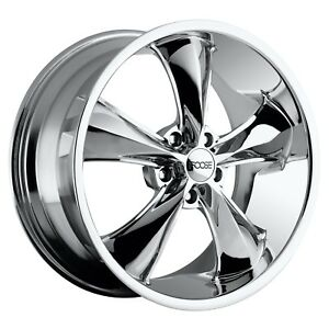 Cpp Foose F105 Legend Wheels 17x7 17x8 Fits Ford Mustang Falcon Galaxie