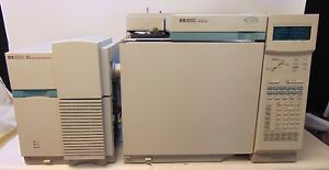 Agilent 6890 Gas Chromatograph W 5973 Msd Tested Working System Da122118