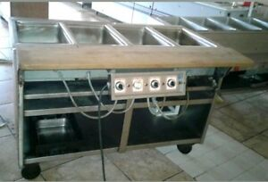 Electric Steam Table 4 Bay Food Warmer