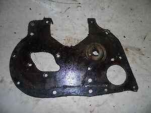 International 606 Tractor Front Engine Cover