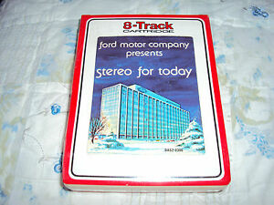 Nos Ford Boss Shelby Mach One Mustang Galaxie Torino Am Fm Stereo 8 Track Demo