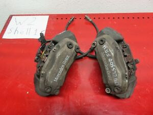 05 11 Mercedes benz W219 Cls500 Cls550 Front Right Left Brake Calipers Pair Set