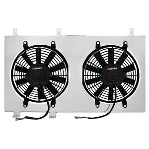 Mishimoto Mmfs mus 79 Mustang Electric Fan Kit With Aluminum Shroud 12 Dual 230