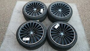 Bmw 5 6 Series Oem Factory Style 410 20 Wheels Tires Tpms And Center Cap Set