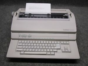Brother Bem 530 Electronic Typewriter Processor tested Working