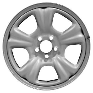 68727 Refinished Oem Wheel Steel Fits 2003 2007 Subaru Forester Silver Painted