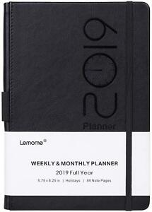Planner 2019 Academic Weekly Monthly And Year Planner With Pen Loop To Achie