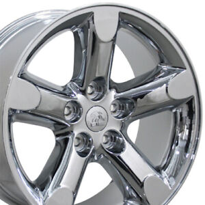 20x9 Wheels Fits Dodge Ram Trucks Ram 1500 Style Chrome Rims Set oew