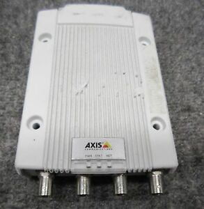 Axis Communications M7014 4 channel Video Encoder 0415 001 01 tested Working