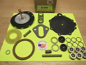 Packard Ac 9590 Unleaded Fuel Pump Rebuild Kit Today s Fuel 1951 1952 1953 1954