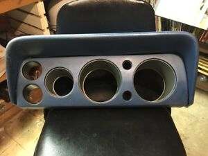 Amc 68 69 Amx Javelin Gauge Cluster Bezel With Shadow Ask