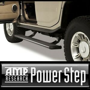 Amp Research Power Retracting Side Steps Running Boards For 03 09 Hummer H2 Sut