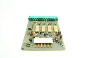 General Motors Gm Cb 728 Del con Shift Register Pcb Board