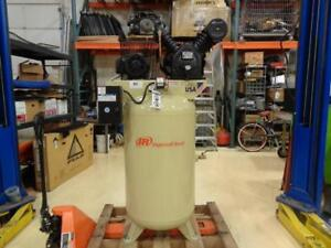 1 New Ingersoll Rand 200v 80 Gallon 3 phase Air Compressor 2475n7 5 v Bs