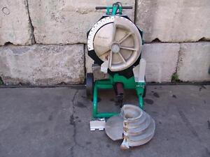 Greenlee 555 Bender 1 2 2 Inch Rigid Pipe Electric Bender Nice Unit 4
