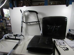 Flash Furniture Black Leather Executive Side Reception Chair Bt 1404 gg