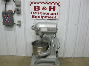 Hobart A 200 Kitchen Bakery Dough Mixer W 20 Qt Stainless Steel Bowl Paddle