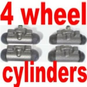 All 4 Wheel Cylinders For Oldsmobile 88 98 1954 1955 1956 Fix Your Brakes