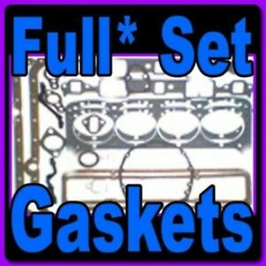 Gaskets Full Set Chevrolet 6 230 250 292 1979 62 Premium Gaskets
