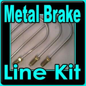 Brake Line Kit Chevrolet Gmc Trucks 1968 1970 1969 1971 replace Rusted Lines