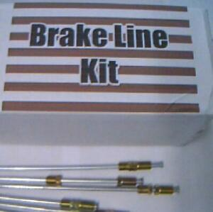 Metal Brake Lines General Motors cars 1973 1985 1986 1987 1988 1989 rwd