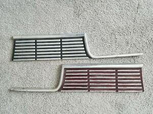 1964 Plymouth Fury Rear Finish Panels Trim Moulding