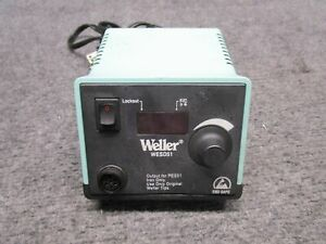 Weller Wesd51 60w Digital Power Unit Soldering Iron Station No Cables