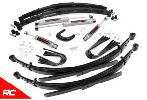 Rough Country 4 Lift Kit Fit 77 87 Chevy Truck 3 4 Gmc Suburban 4wd 25030