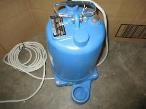 Goulds We0512h Submersible Effluent Pump 1 2 Hp Single Phase