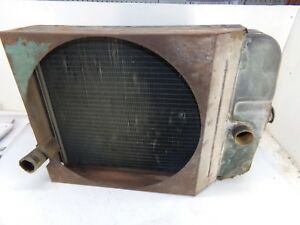 Oliver 1600 Tractor Radiator had Clean Anifreeze In It