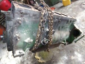 Oliver 1600 Tractor Motor Runs Good Found One Cracked Sleeve
