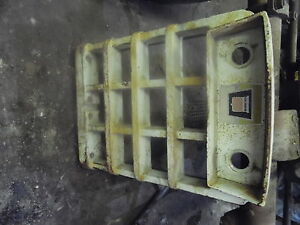 Oliver 1755 Tractor Front Grill