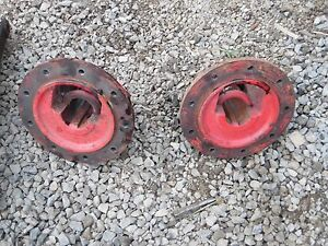 Oliver 77 Gas Tractor Axle Clamps