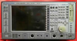 Rohde Schwarz Fsiq26 Spectrum Signal Analyzer 834768008 options In Description