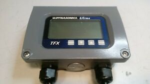 Dynasonics Tfx Ultrasonic Digital Lcd Flow Meter For 1 Pipe 0 100 Gpm