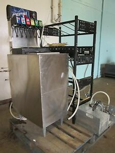 servend Di 1522 H d Commercial 6 Heads Free Standing Soda Dispenser System