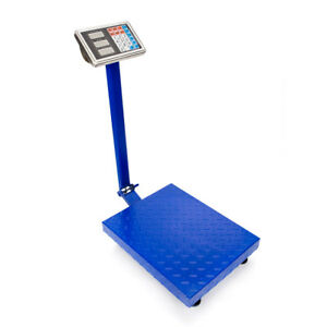 300kg 661lb Lcd Digital Floor Postal Platform Scale Weight Price Us Free Ship