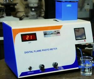 Flame Photometer Digital Free Shipping Worldwide