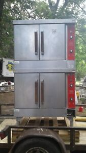 Vulcan Natural Gas Double Stack Convection Oven Model Vc4gd 40