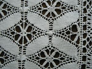 18 19c Antique Runner Bedfordshire Maltese Bobbin Lace H Done Deco Style Europe