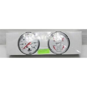 Garage Sale Auto Meter 1303 Arctic White Quad Gauges
