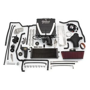 Edelbrock 1576 E Force Competition Chevy Supercharger System Kit 6 2l