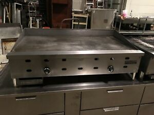 Us Range 48 Inch 4ft Gas Thermostat Controlled Flat Top Griddle Grill U s