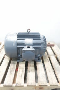 Allis Chalmers Gzz Ac Motor 286u 3ph 20hp 1750rpm 208 220 440v ac
